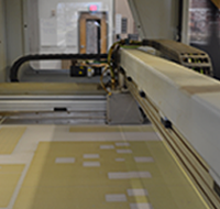 Inside the 3D Sand Cast Printer