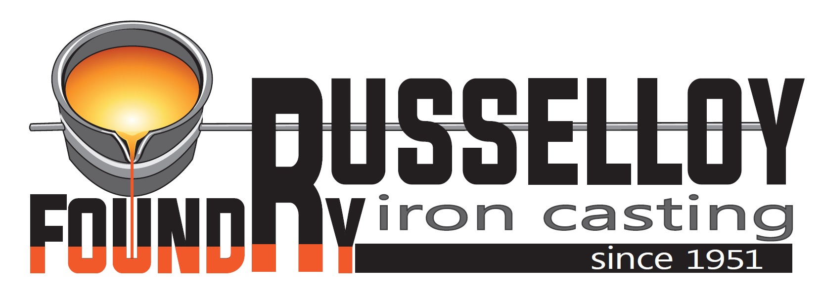 Russelloy Foundry logo