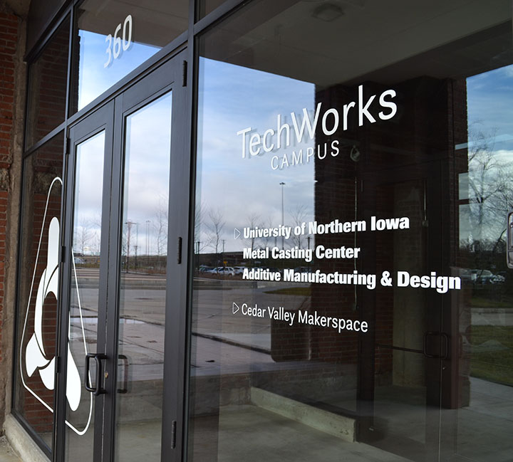 TechWorks Campus, Waterloo, IA; Home of UNI's Additive Manufacturing Center